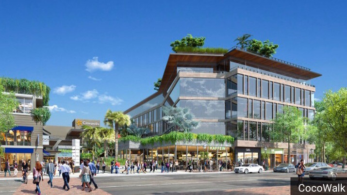 South Florida's Iconic Coco Walk Shopping Center About to Undergo Major Renovations.