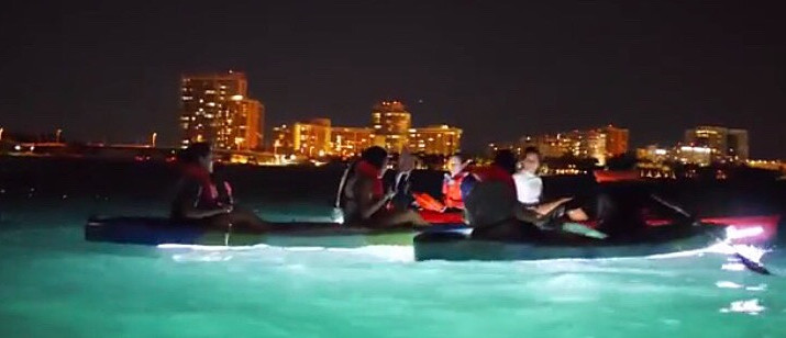 FIU's Biscayne Bay Campus Night Kayaking Excursion Dates Announced for this Summer 2017.