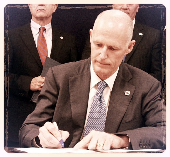 Florida Governor Rick Scott Signs State Employee Pay Raise Bill for all Floridian's.