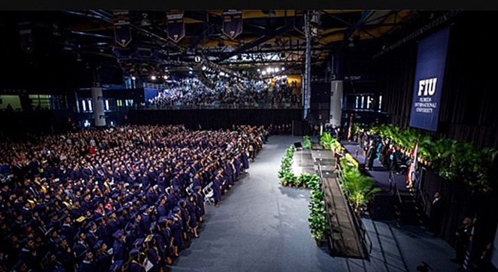 A Total of 5,099 Florida International University Panthers Will be Graduating this Spring Semester.