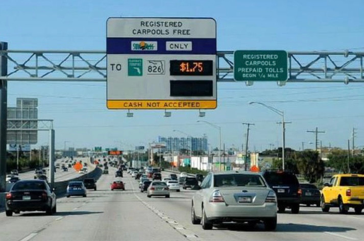 Miami Residents Fed Up of Excessive Toll Fares.