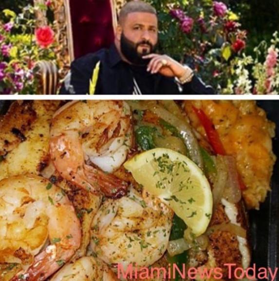 DJ Khaled Opens Up Restaurant In Miami Gardens.