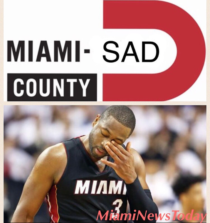 Miami Wade County Becomes Miami Sad County.