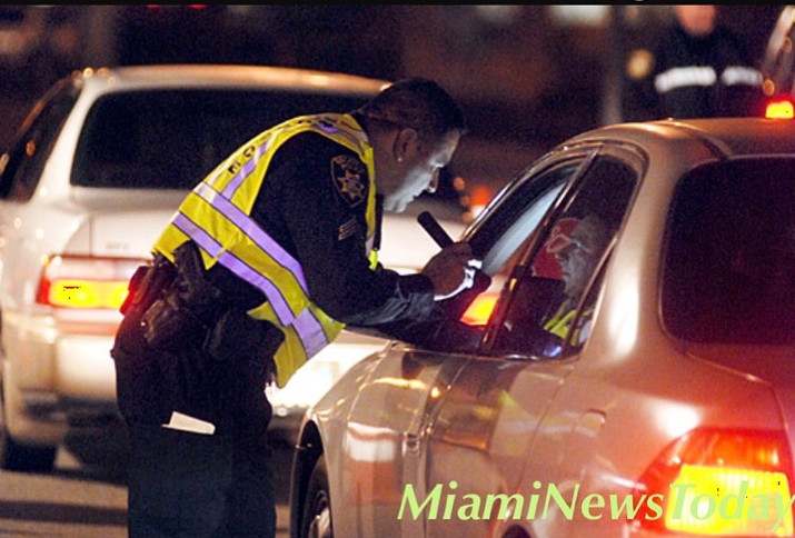 Miami Police Conducting DUI Check Points This Labor Day Weekend.