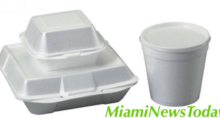 Miami Beach Bans use of Styrofoam.