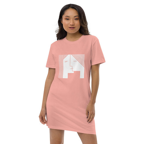 """Heavy Feels"" Organic cotton t-shirt dress"