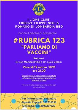 Locandina evento Vaccini - Romano L. BBO
