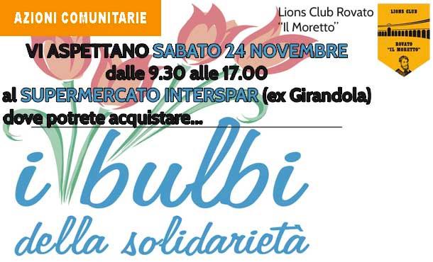 24/11/18 - BULBI DELLA SOLIDARIETA'