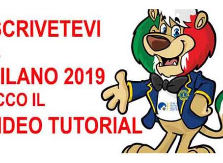 5-9/07/19 - CONVENTION LCI MILANO 2019