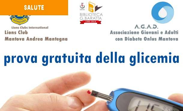 24/11/18 - ESAME GRATUITO GLICEMIA