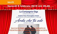 08/02/19 - A TEATRO PER LA PEDIATRIA