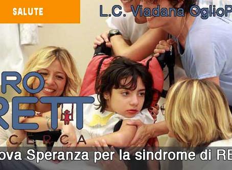 30/10/18 - LA SINDROME DI RETT
