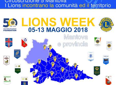 05/05/18 - LIONS WEEK Mantova
