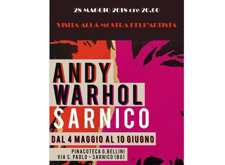 28/04/2018 Mostra ANDY WARHOL