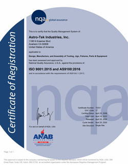 AS9100 Certification