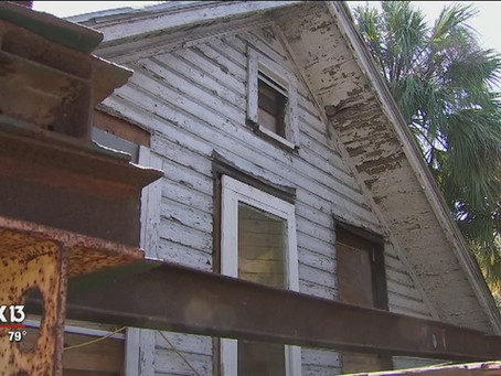 AJS Moves Oldest Home in Tampa