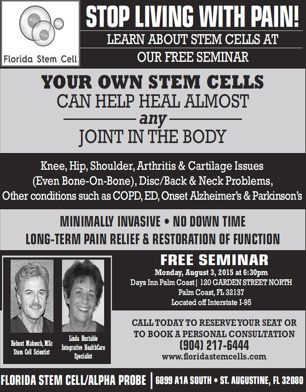 Florida Stem Cell seminar