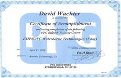 Acc. Certificate