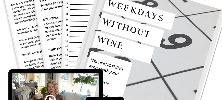 Weekdays Without Wine-4 Foundational Tools to Stop Over Drinking