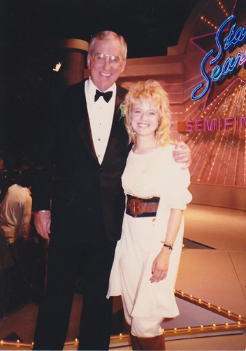 Jana Anderson on Star Search with Ed McMahon. This was the original American Idol or The Voice type Singing Show.
