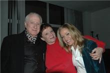 Jana Anderson with Hall of Fame songwriter, Jerry Leiber and his former wife and friend. God bless his life.