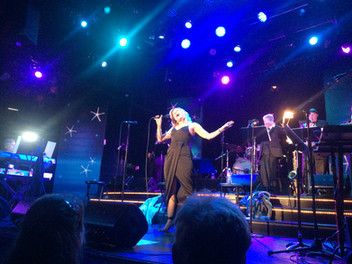 Jana Anderson singing lead at The Aretha Franklin Tribute at the beautiful and legendary Chanhassen Theater