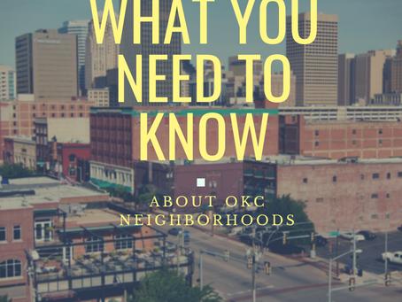Oklahoma City Districts