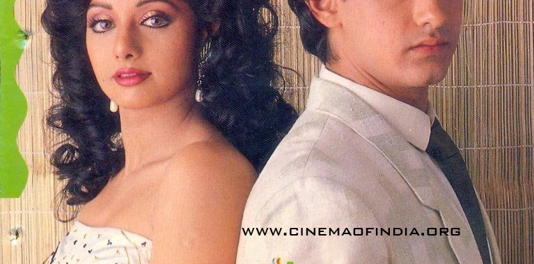 Sridevi and Aamir Khan