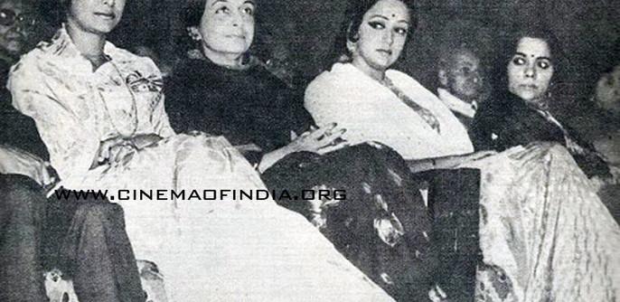 Waheeda Rehman and Hema Malini