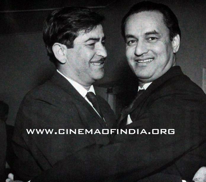 Raj Kapoor and Mukesh