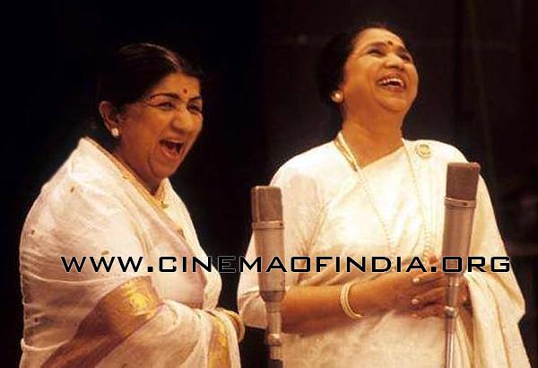 Lata Mangeshkar and Asha Bhosle