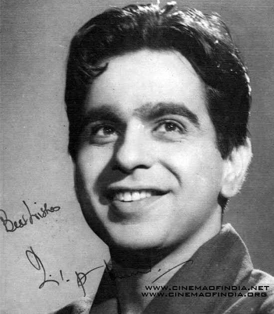 Dilip Kumar Autographed Photo