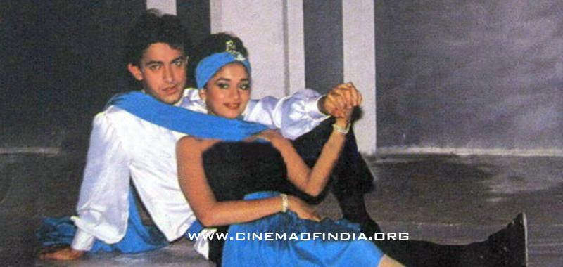 Aamir Khan and Madhuri Dixit