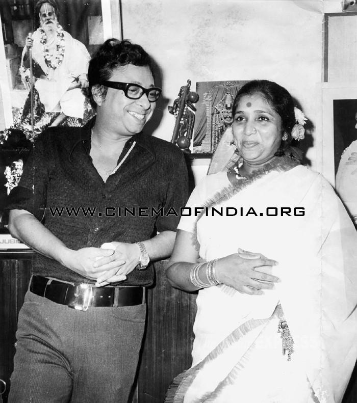 R.D.Burman and Asha Bhosle