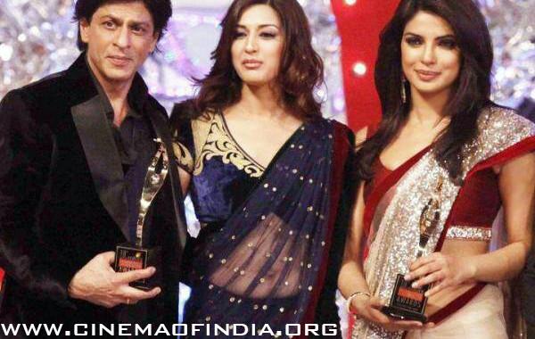 Shahrukh Khan, Sonali Bendre and Priyanka Chopra