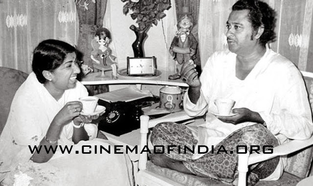 Lata Mangeshkar and Kishore Kumar