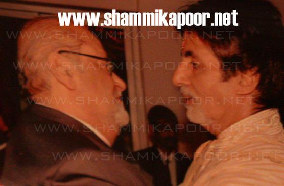 Shammi Kapoor and Amitabh Bachchan