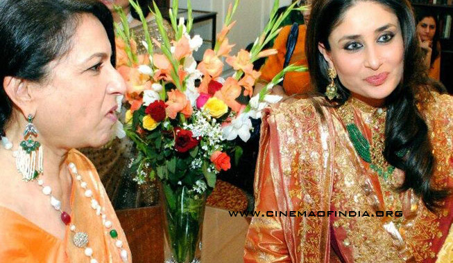 Sharmila Tagore and Kareena Kapoor