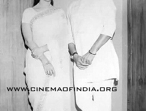 Waheeda Rehman and Rajesh Khanna