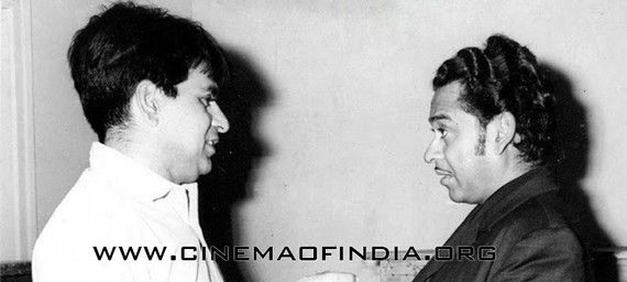 Dilip Kumar and Kishore Kumar