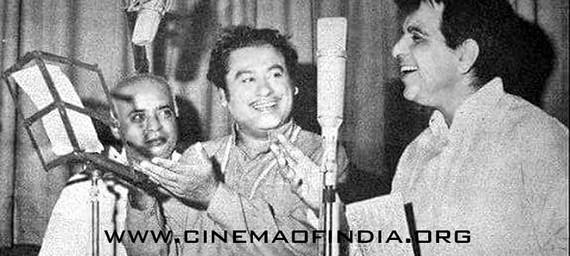 Kishore Kumar and Dilip Kumar