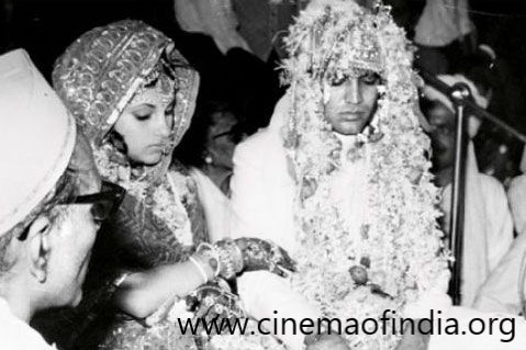 Rajesh Khanna and Dimple Kapadia Wedding