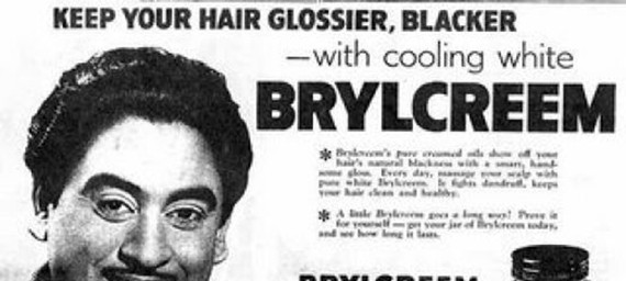 Old Brylcreem Advertisement
