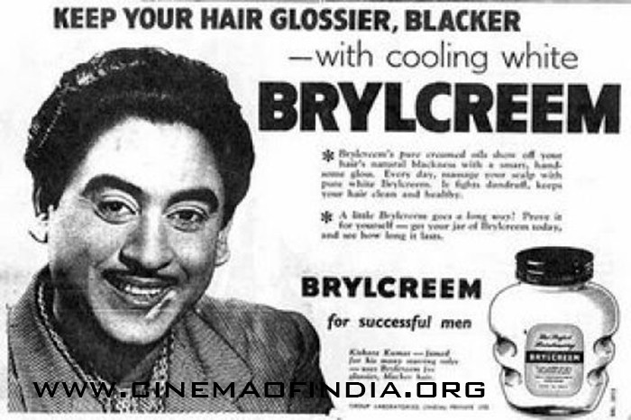 Old Brylcreem Advertisement