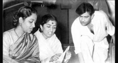 Lata Mangeshkar and Raj Kapoor