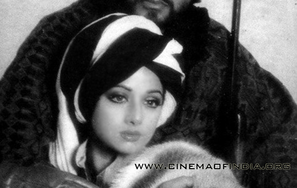 Amitabh Bachchan and Sridevi