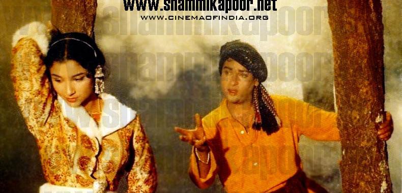 Sharmila Tagore and Shammi Kapoor
