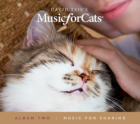 CD of Music for Cats Album Two