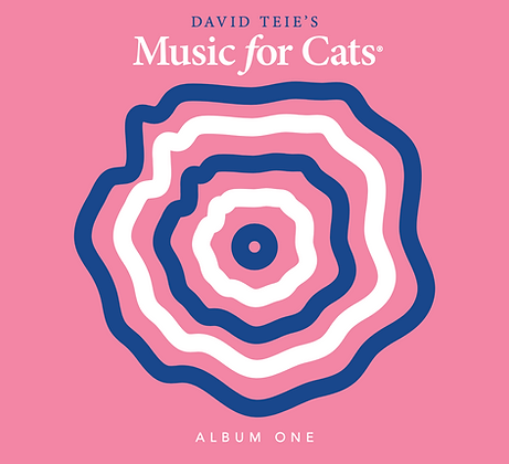 CD of Music for Cats Album One
