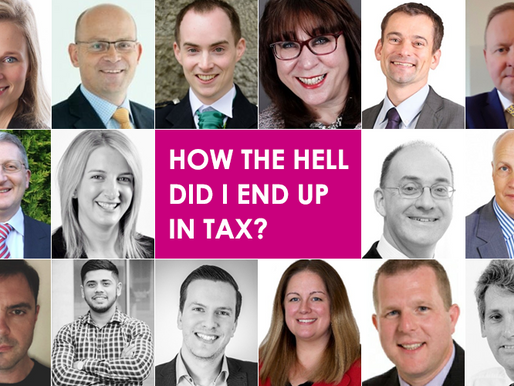How the hell did I end up in tax?